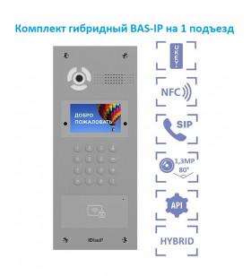 Комплект BAS-IP гибридная...