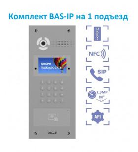 Комплект BAS-IP на 1 подъезд